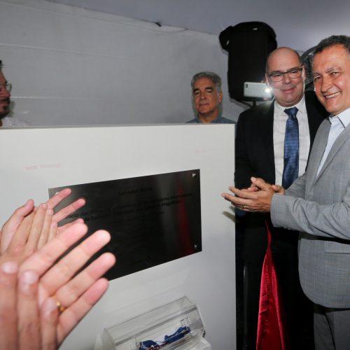 """""""Esse momento abre as portas da Bahia para o mundo"""", diz Rui em evento que marca início de obras no aeroporto de Salvador"""