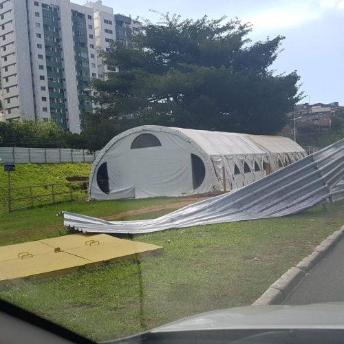 Manifestantes contra BRT vandalizam equipamentos públicos e têm carros multados