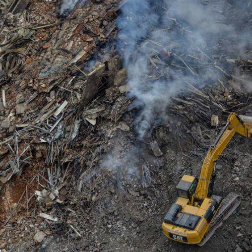 Corpo achado em escombros é de Ricardo, vítima que quase foi resgatada