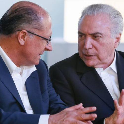 Em entrevista, Temer admite apoio a Alckmin ou outro candidato de centro