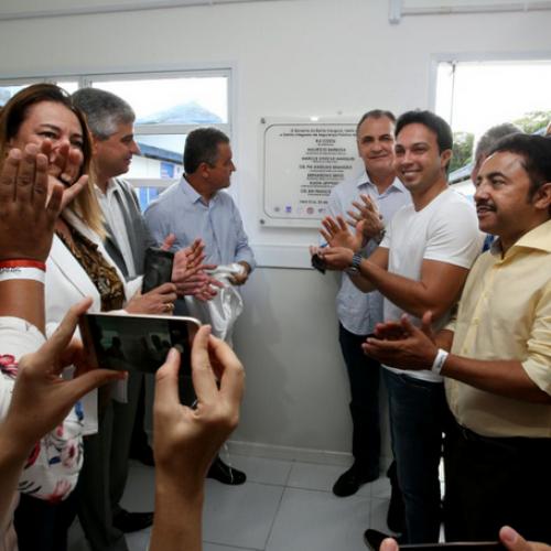 Governador inaugura na cidade de Vera Cruz maior Distrito Integrado de Segurança Pública do Estado