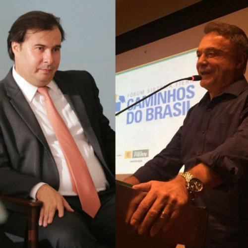 Maia e Álvaro Dias articulam aliança para isolar PSDB-MDB