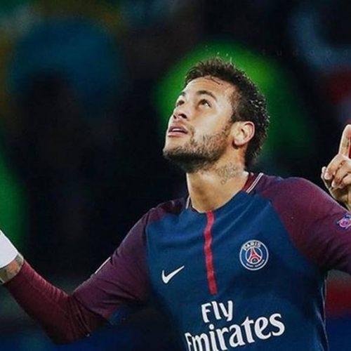 Neymar faz 1º treino no PSG após cirurgia e Thiago Silva comemora