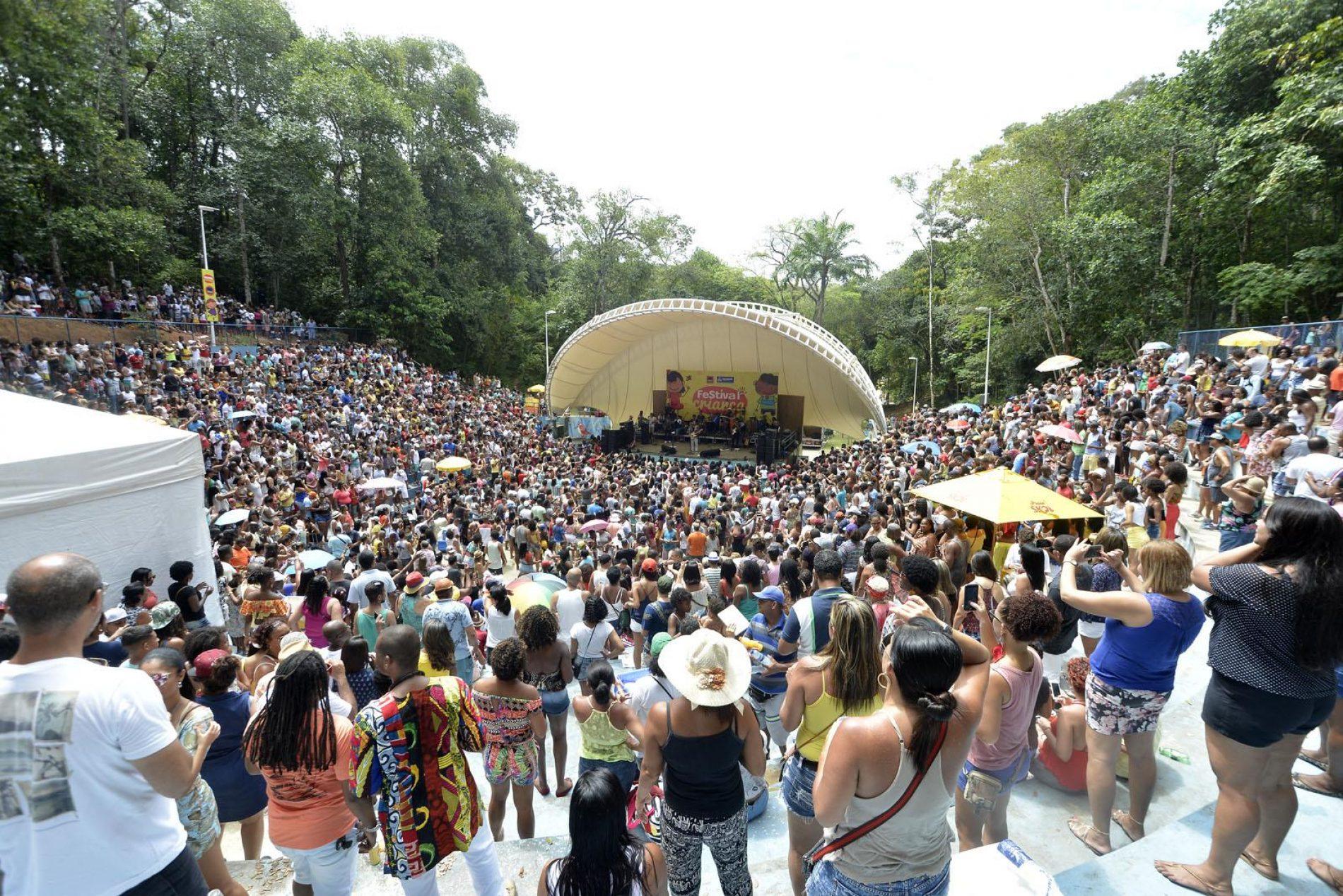 Parque da Cidade receberá música, dança e esporte neste final de semana