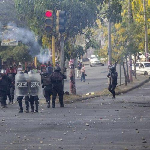 Protestos na Nicarágua deixam um morto, feridos e fecham escolas