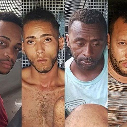 Seis homens são presos acusados de participar de roubo a bancos em Jeremoabo
