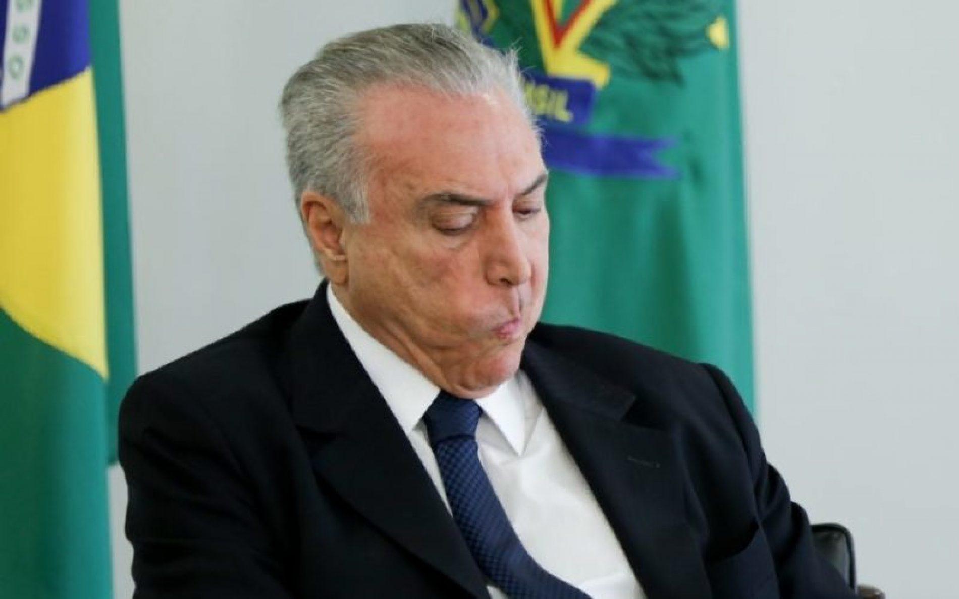 PF atribui a Temer obstrução de Justiça em suposta compra do silêncio de Cunha