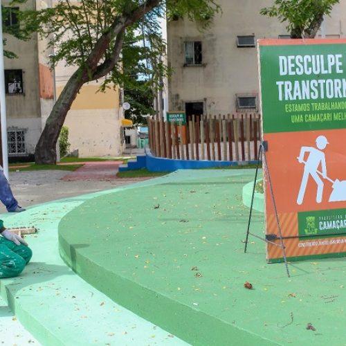 Camaçari: Nova praça da Gleba C será entregue na sexta-feira