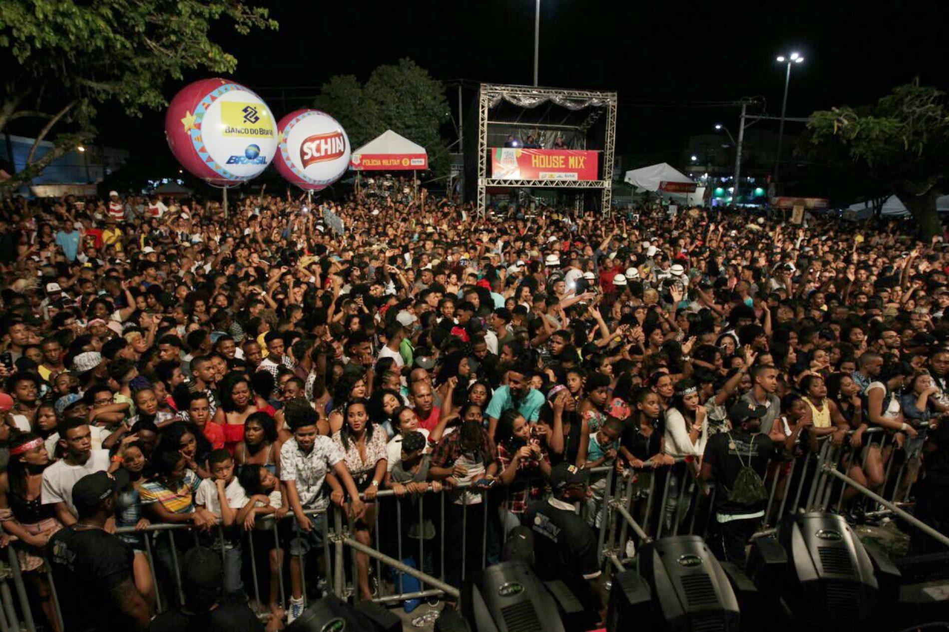 Último dia do São João de Paripe atrai mais de 70 mil pessoas ao Subúrbio de Salvador