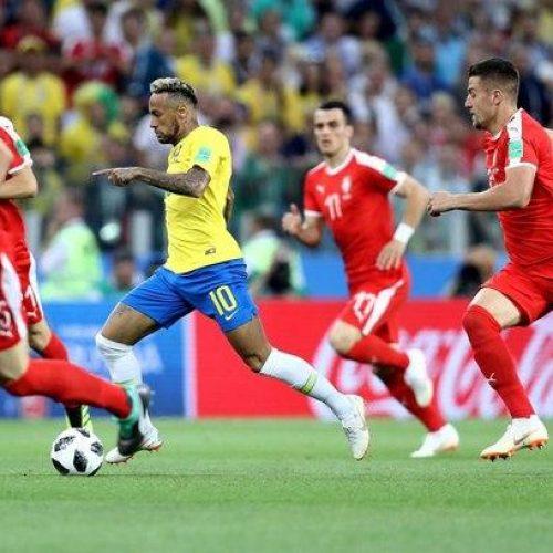 Brasil vence a Sérvia, garante liderança e encara o México nas oitavas de final