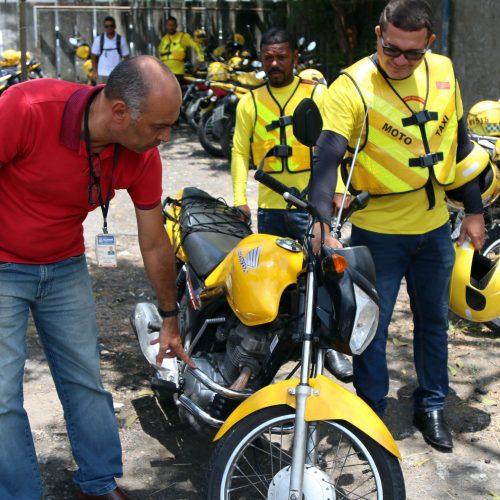 Salvador: Credenciamento de mototaxistas será encerrado nesta terça-feira
