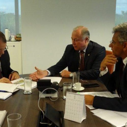 Em Brasília, Paulo Azi e Dinha articulam conclusão de viaduto inacabado do PT
