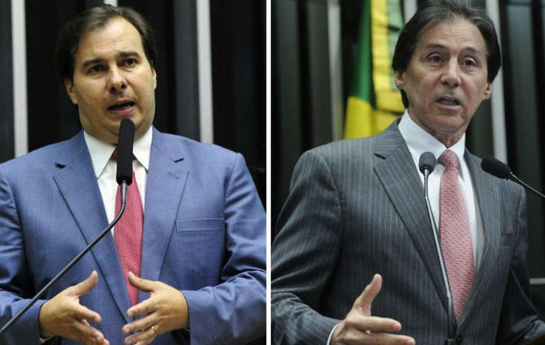 Eunício e Maia analisam saída de Pedro Parente da Petrobras