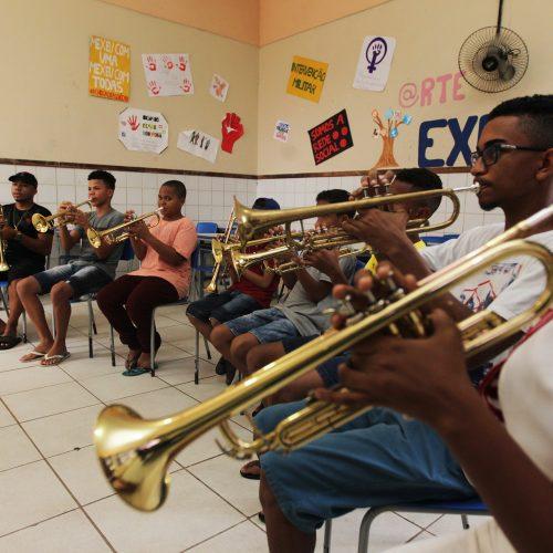 Fanfarras de Colégios Estaduais realizam últimos ensaios para desfile do 2 de Julho