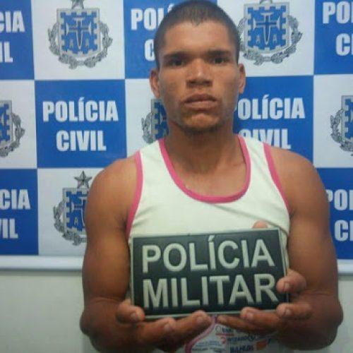 Homem é preso suspeito de ter estuprado mulher na festa de São João em Itagibá