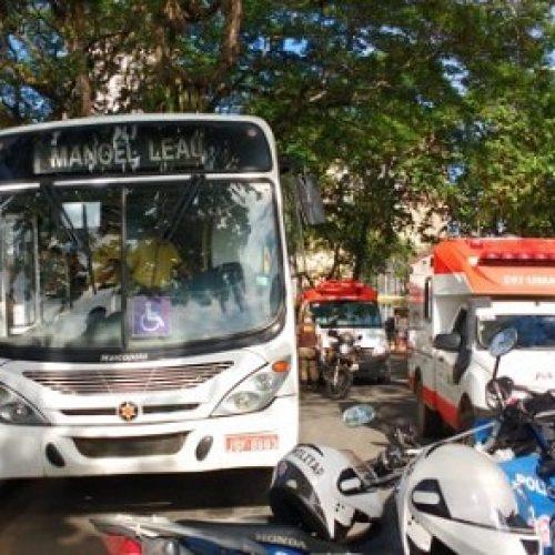 Itabuna: Homem atira na ex-esposa dentro de ônibus e comete suicídio