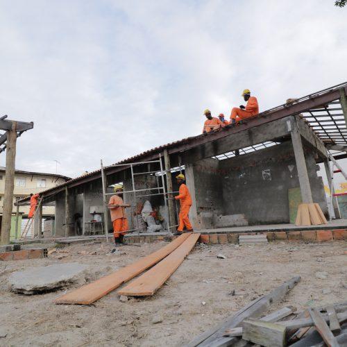 Prefeitura de Lauro de Freitas retoma obras do Mercado Municipal do Centro