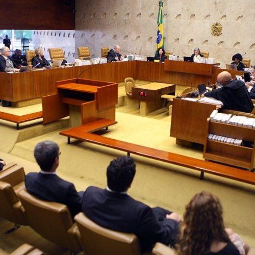 STF tem liminar contra leis sem julgamento há 8 anos