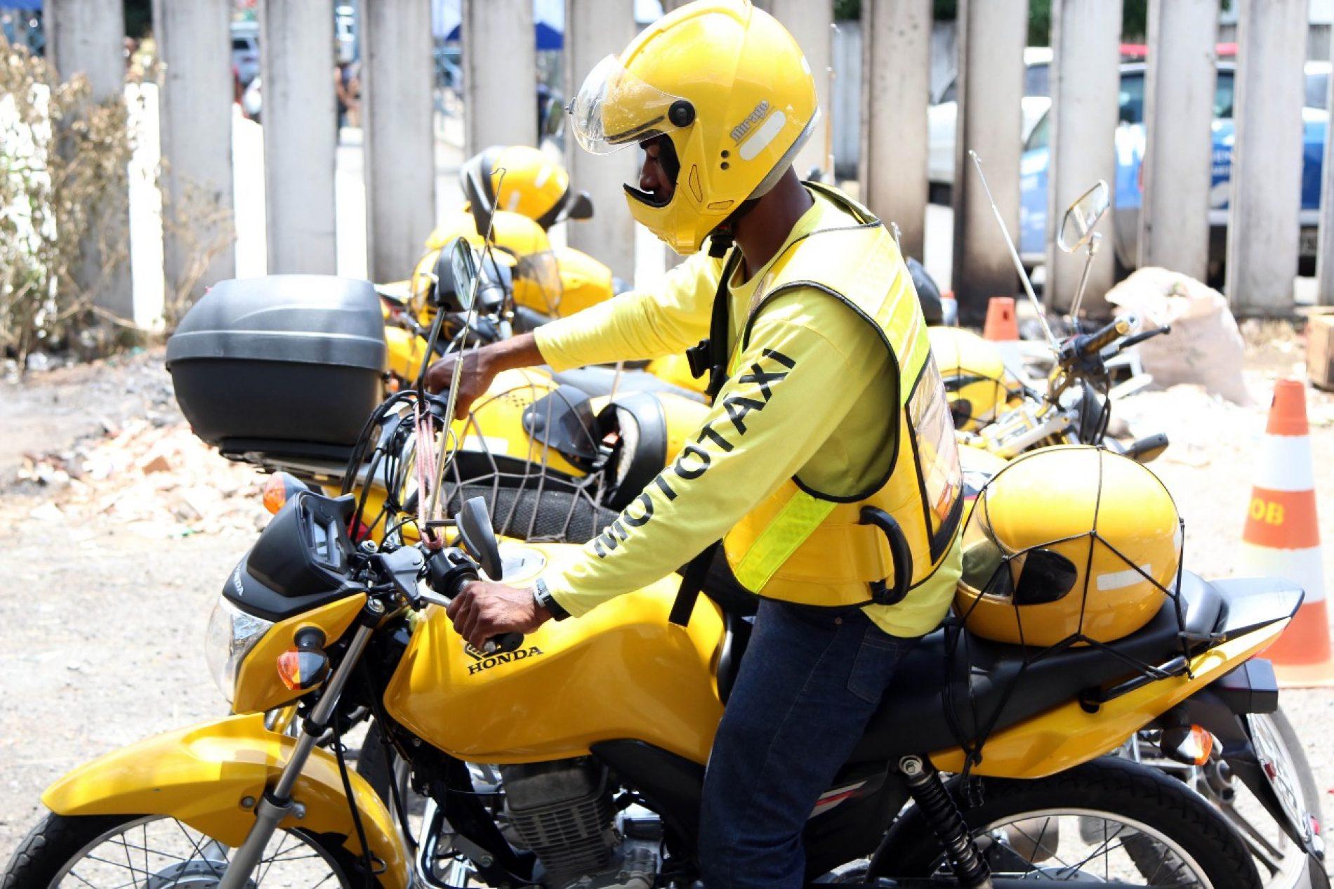 Salvador: Segunda fase do credenciamento de mototaxistas termina hoje