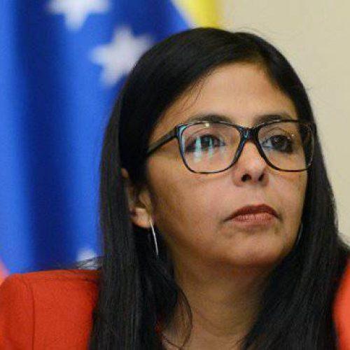 Vice-presidente da Venezuela diz que não cederá ameaça da UE