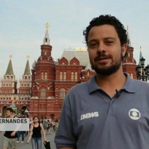 Ao vivo da Rússia, repórter da Globo assume que é gay