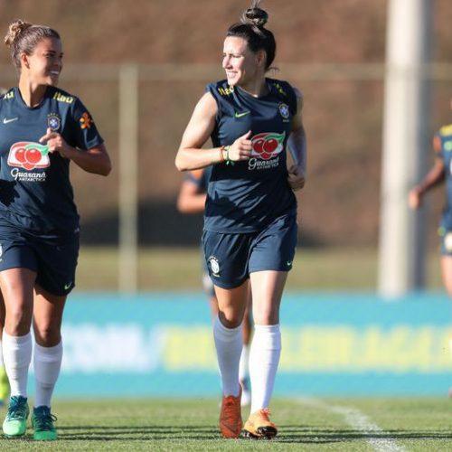 Jogos da seleção feminina de futebol serão transmitidos pela CBF