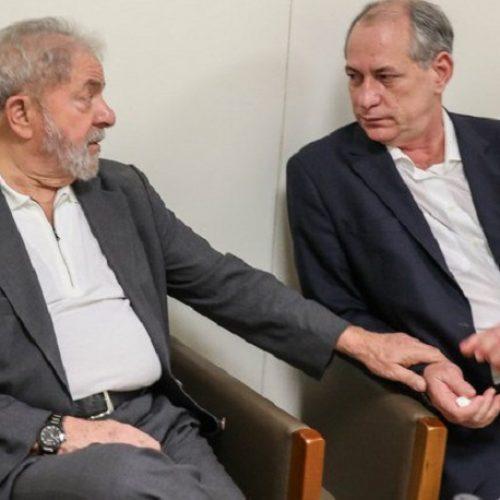 Lula veta aliança com Ciro Gomes