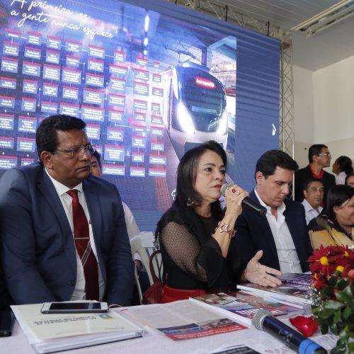 Moema faz balanço da gestão e anuncia implantação do Centro Administrativo de Lauro de Freitas