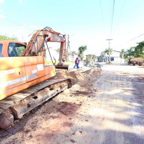 Camaçari: Rua Otávio Mangabeira passa por requalificação