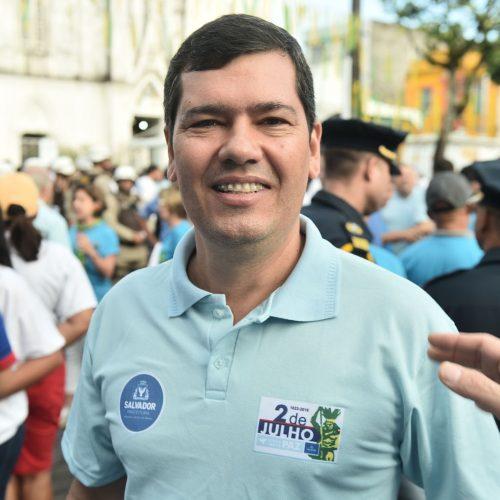 Dois de Julho: Tinoco espera ordem de serviço do Centro de Convenções para este mês