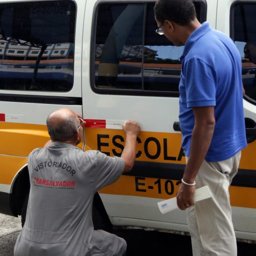 Salvador: Veículos de transporte escolar passarão por vistoria até o dia 10 de agosto