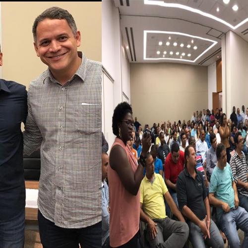 Em reunião com lideranças, Tinoco declara apoio a Pablo Barrozo