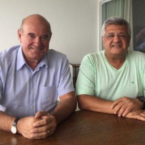 Bacelar sela parceria com o ex-prefeito de Paulo Afonso Anilton Bastos