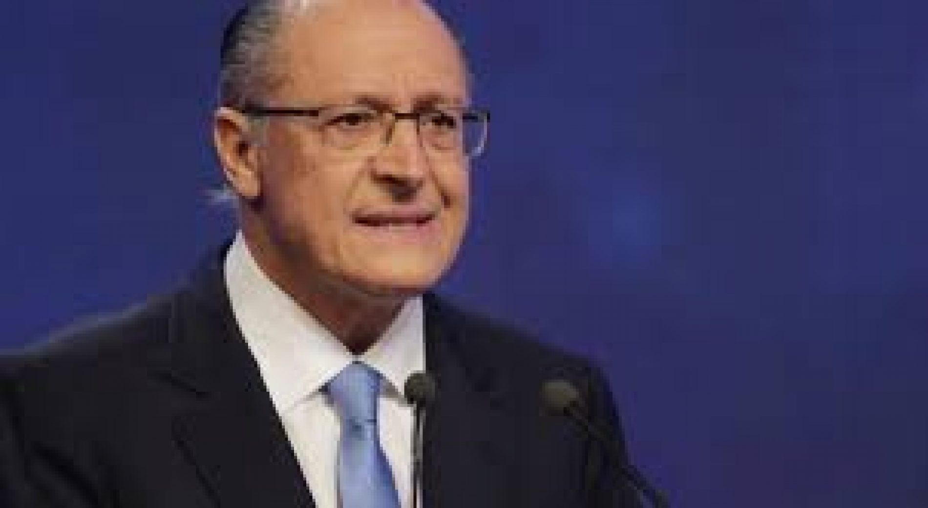 Alckmin propõe parceria com Estados para segurança pública