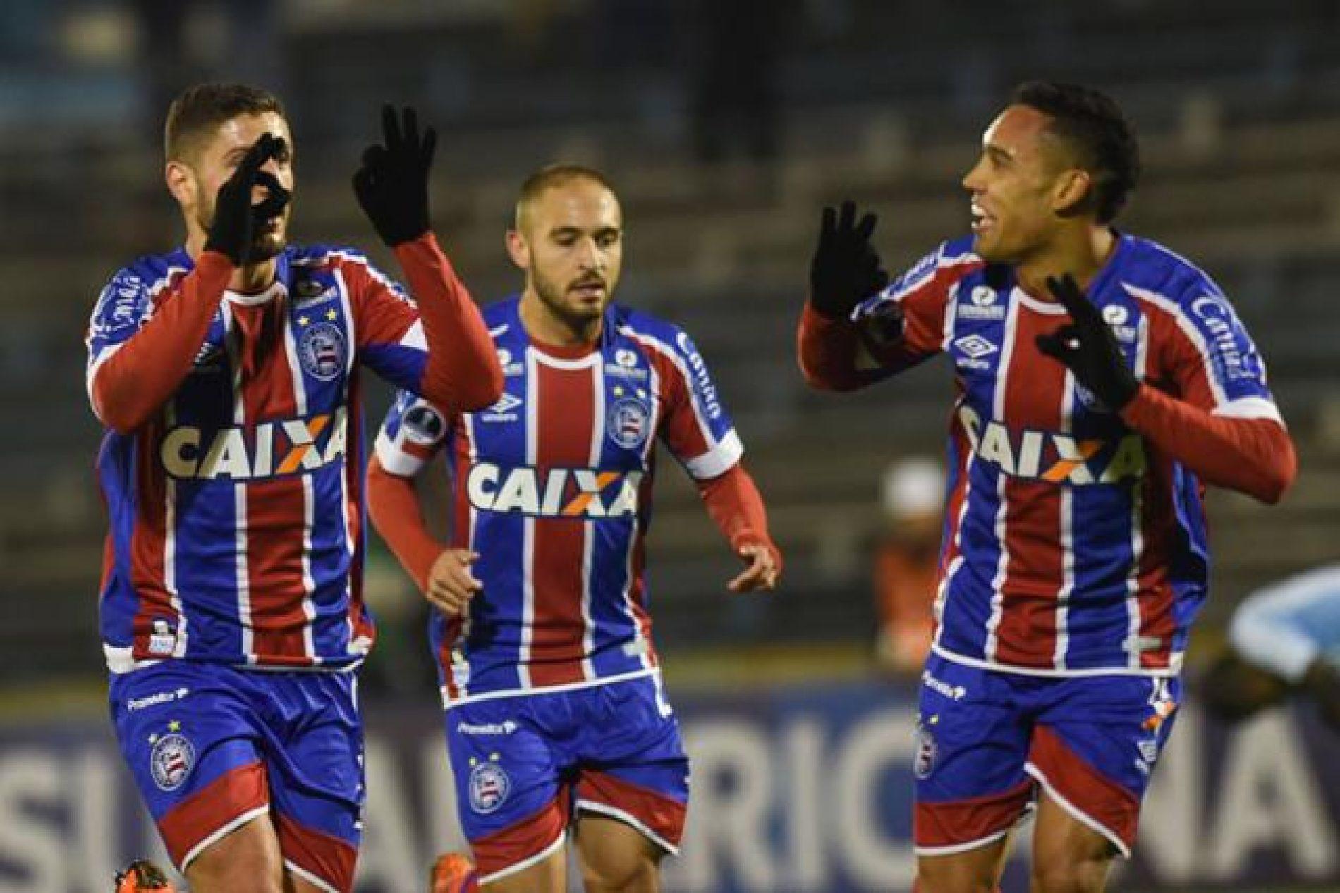 Bahia empata com Cerro no Uruguai e conquista classificação inédita na Copa Sul-Americana