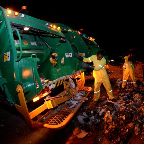 Camaçari é referência em limpeza pública