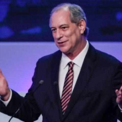 Ciro diz que vice de Lula não deveria participar de debates
