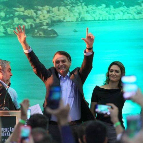 Empurrado por Bolsonaro, PSL ganha 4 vezes mais filiados do que rivais