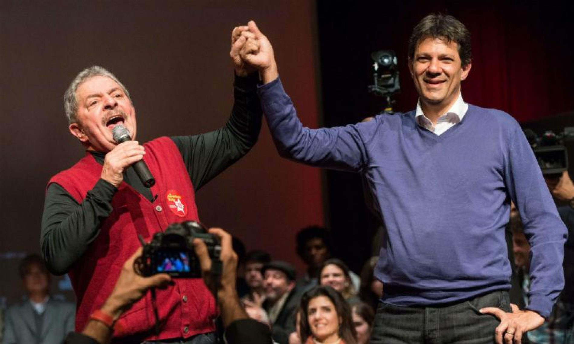 Haddad é confirmado como vice de Lula