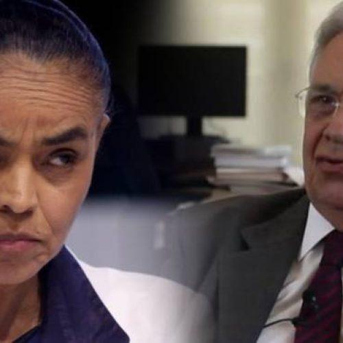 Marina rebate FHC: 'coligação do PSDB tem excesso de malignidade'