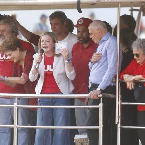 Mobilização a favor de Lula reúne candidatos das eleições de 2018