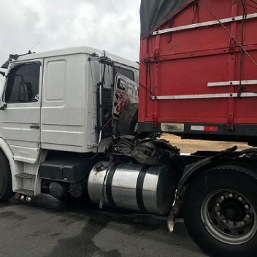 Conquista: Motorista abastece R$ 2,2 mil em diesel, foge e é preso com CNH falsa