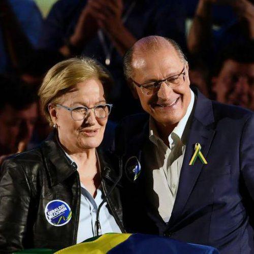 PSDB registra chapa de Geraldo Alckmin e Ana Amélia Lemos à presidência