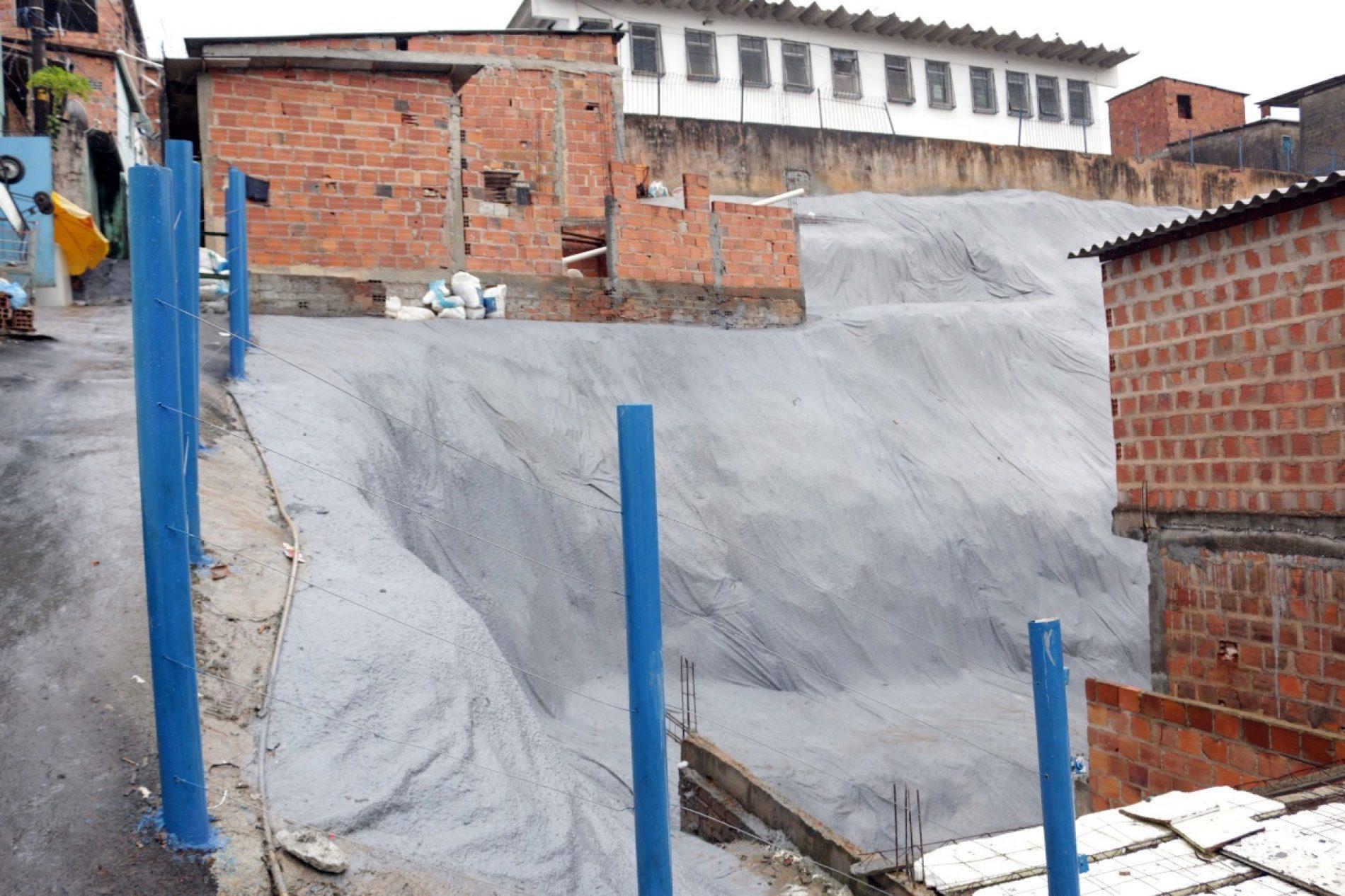 Salvador: Prefeitura entrega geomanta em Santa Cruz nesta terça