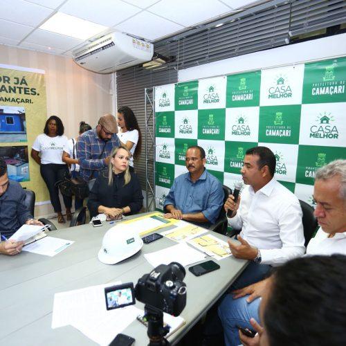 Camaçari: Programa municipal vai realizar reformas em moradias
