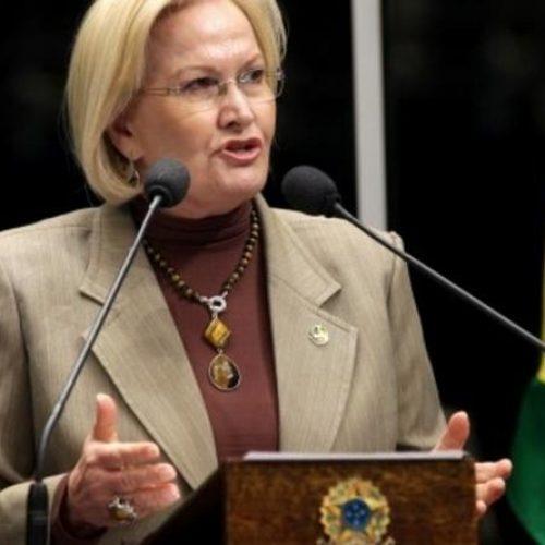 Senadora Ana Amélia aceita convite para ser candidata a vice de Alckmin
