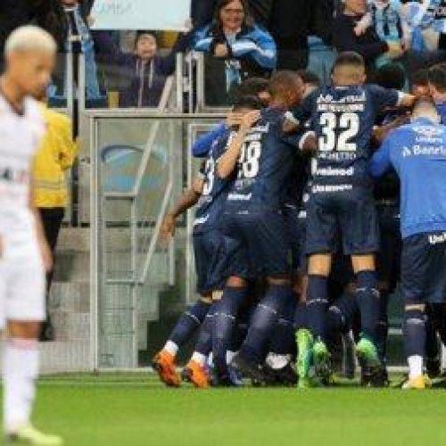 Vitória é goleado por reservas do Grêmio e beira o Z-4