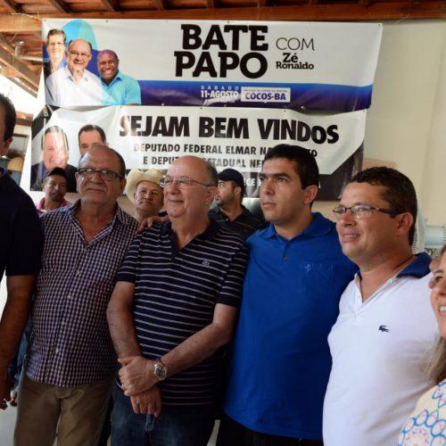 Zé Ronaldo finaliza agenda do Oeste e recebe apoio de lideranças políticas em Cocos