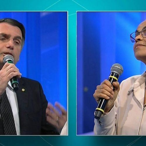 Mulheres: debate esquenta com embate entre Bolsonaro e Marina Silva