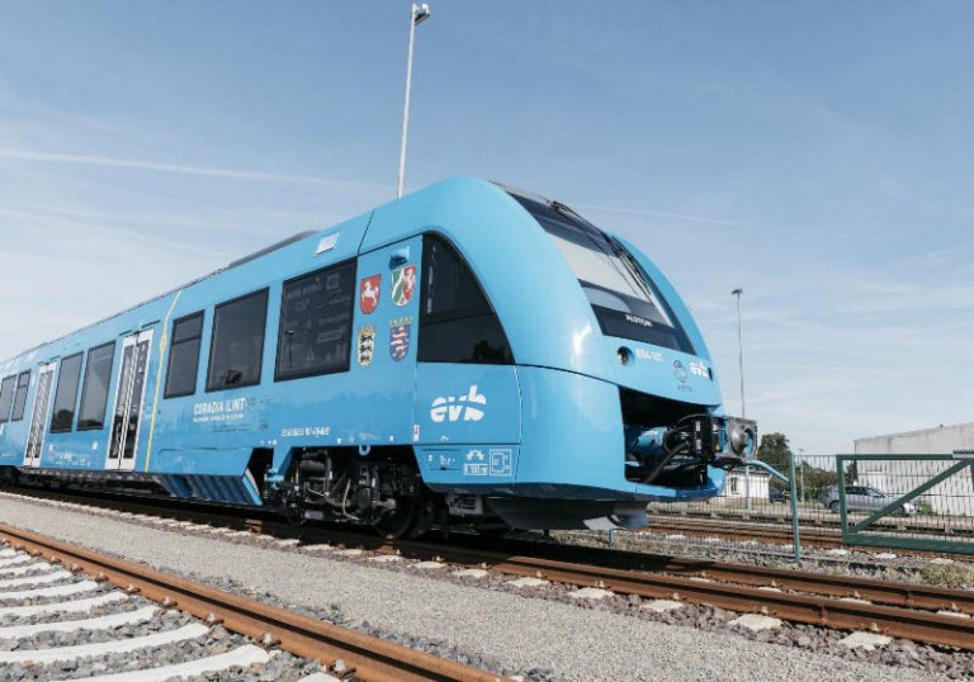 1º trem a hidrogênio começa a circular: energia mais limpa do mundo